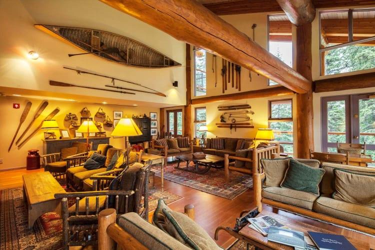 Lodge Interior Living Areas