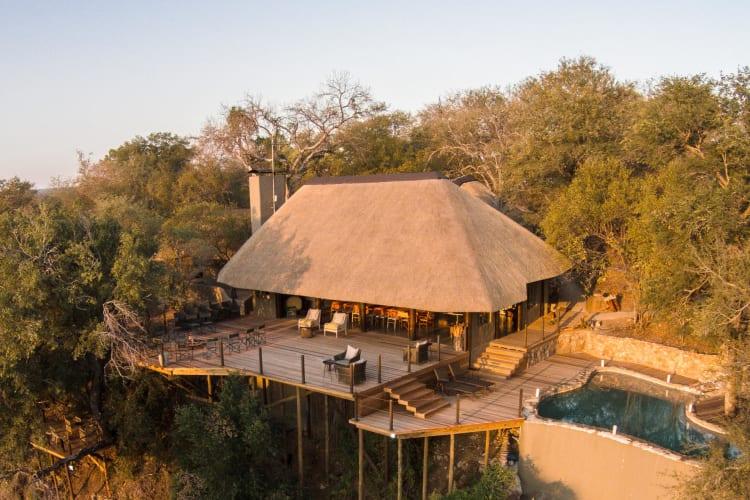 Aerial View of Garonga Main Lodge