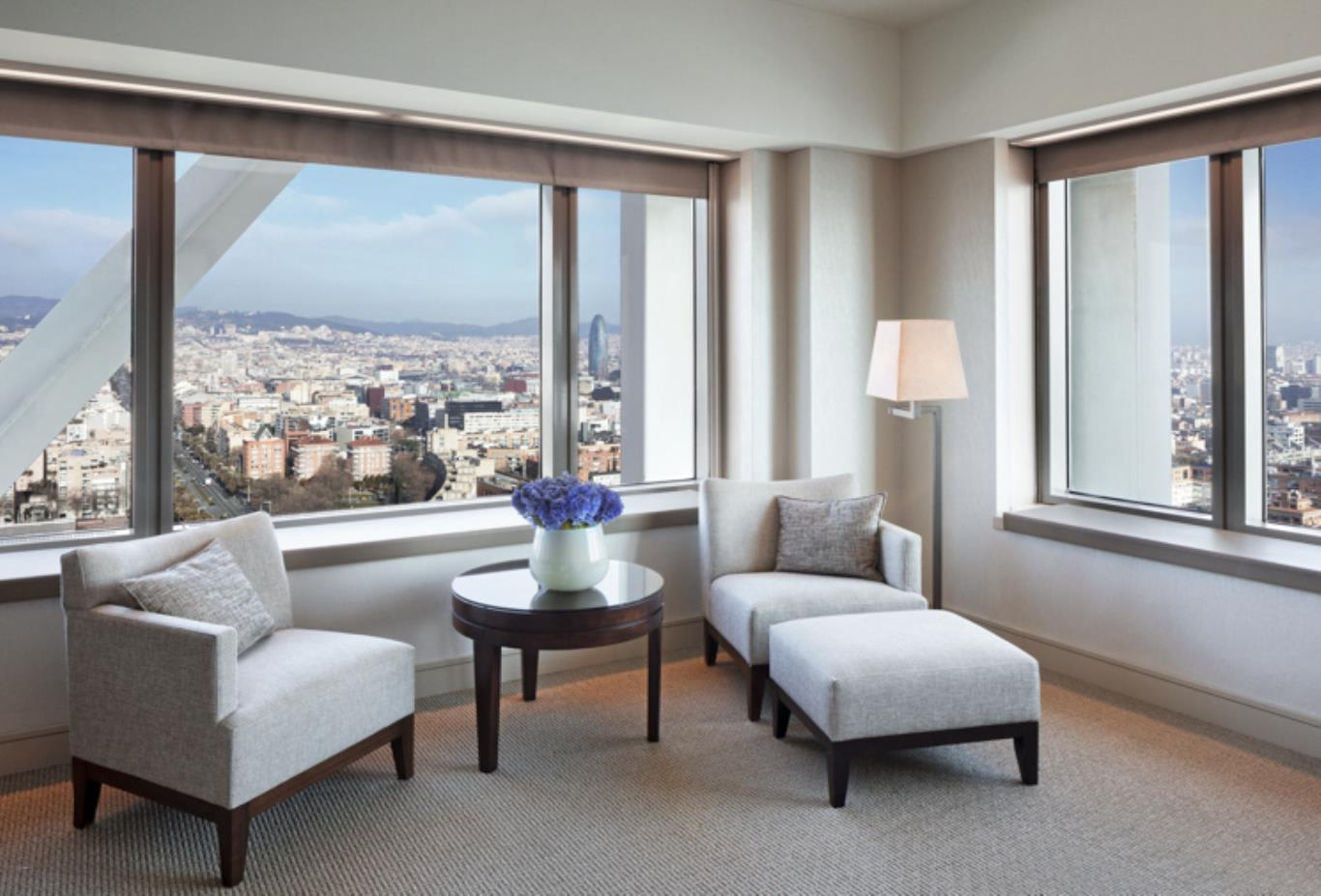 Executive suite city views