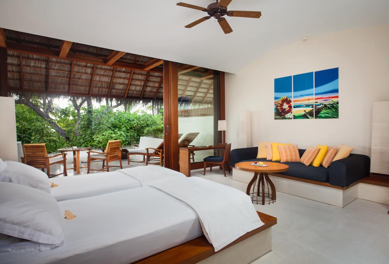 Beach Villa Twin Bed