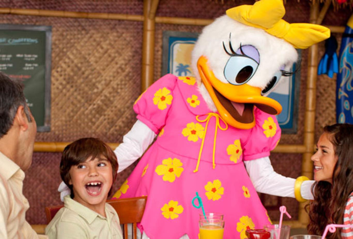 Dine with Daisy Duck