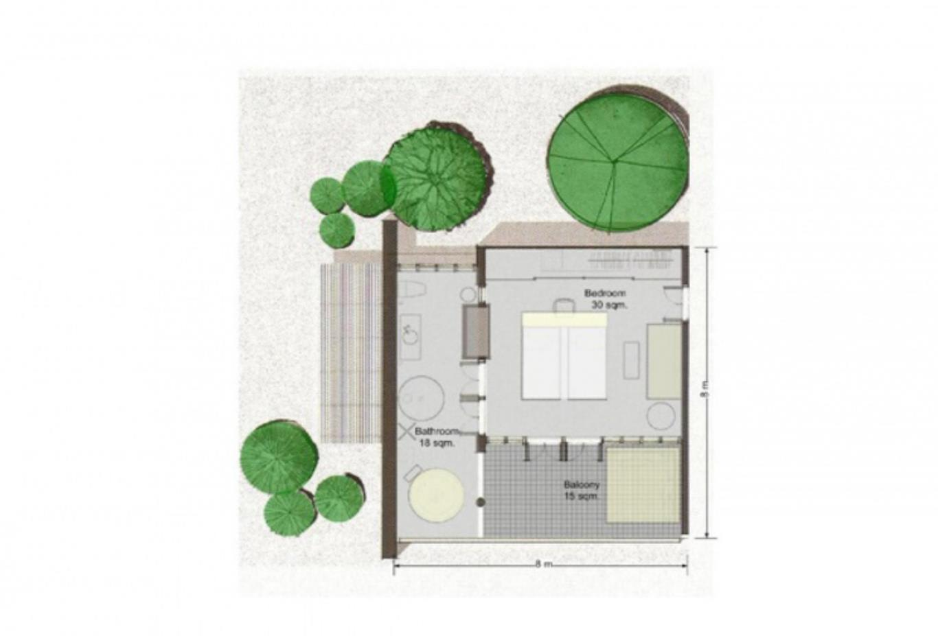 Deluxe Balcony floorplan