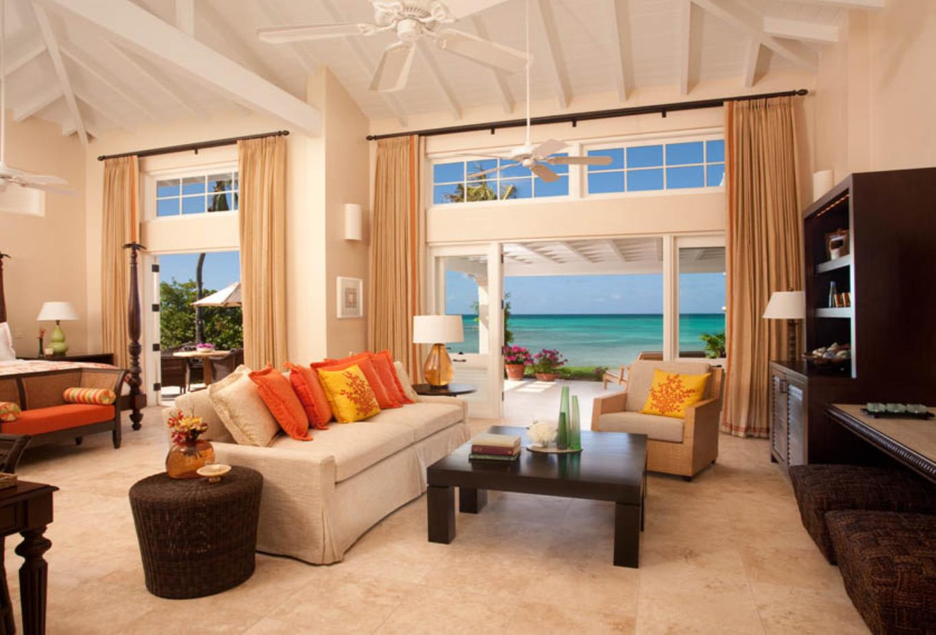 Beachside Courtyard Suite