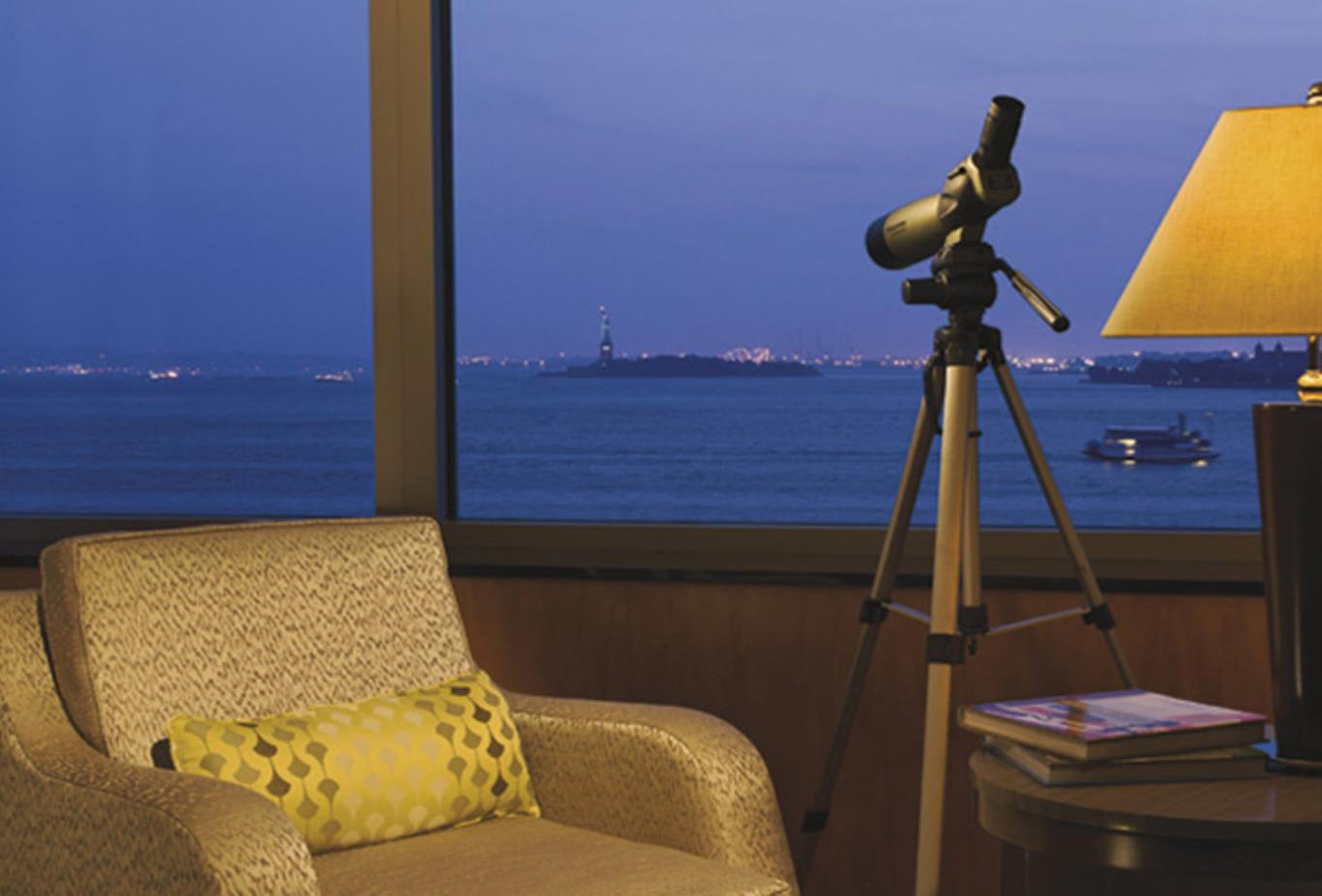 View from Statue of Liberty Room