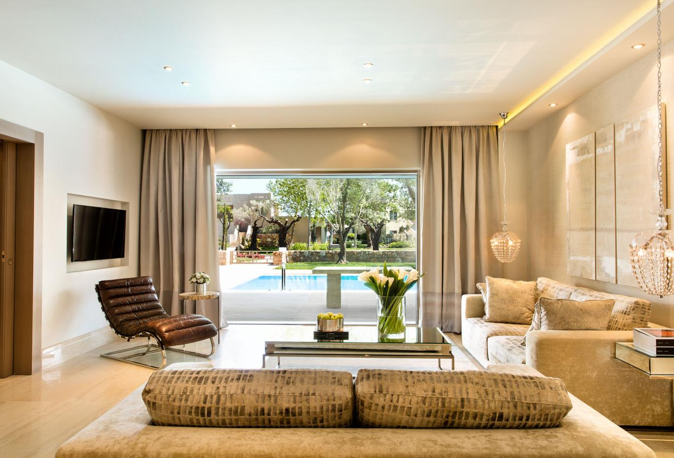 Three Bedroom Deluxe Suite Private Pool - Garden View