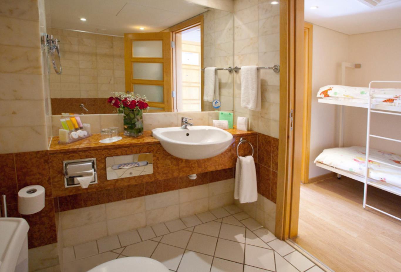 Executive Pool Bathroom