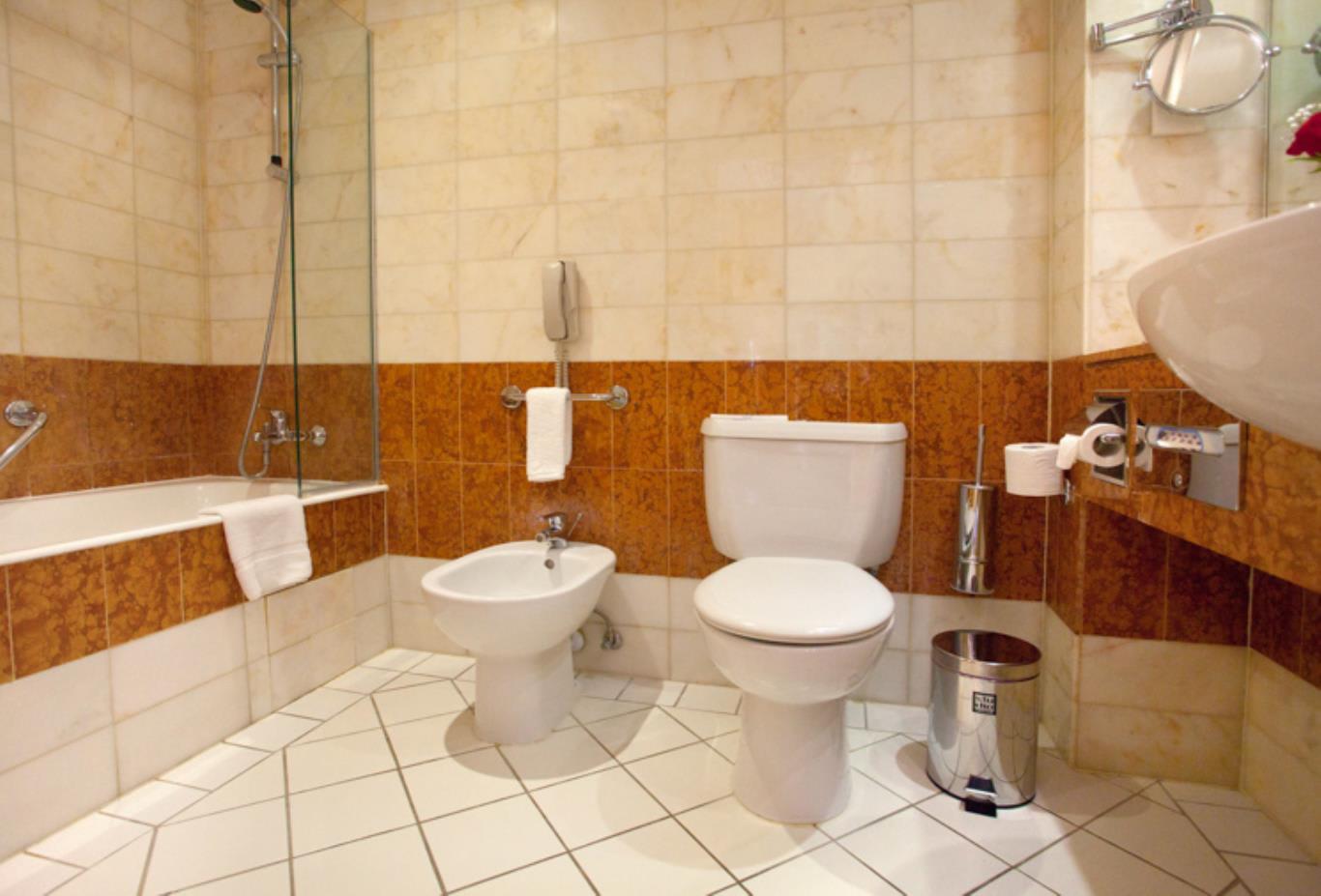 Twin Inland View Bathroom