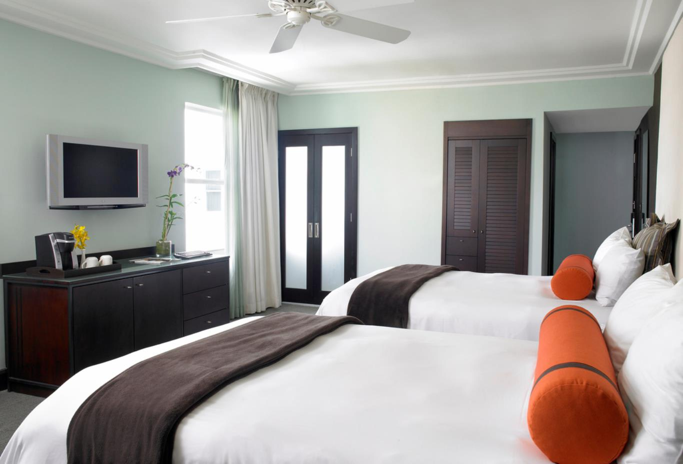 City View Room With Two Double Beds