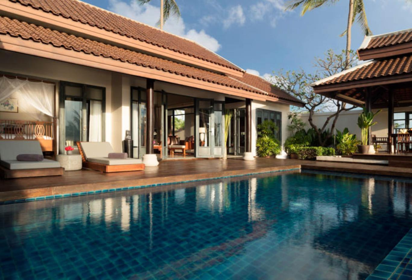 2 Bedroom Villa pool and view