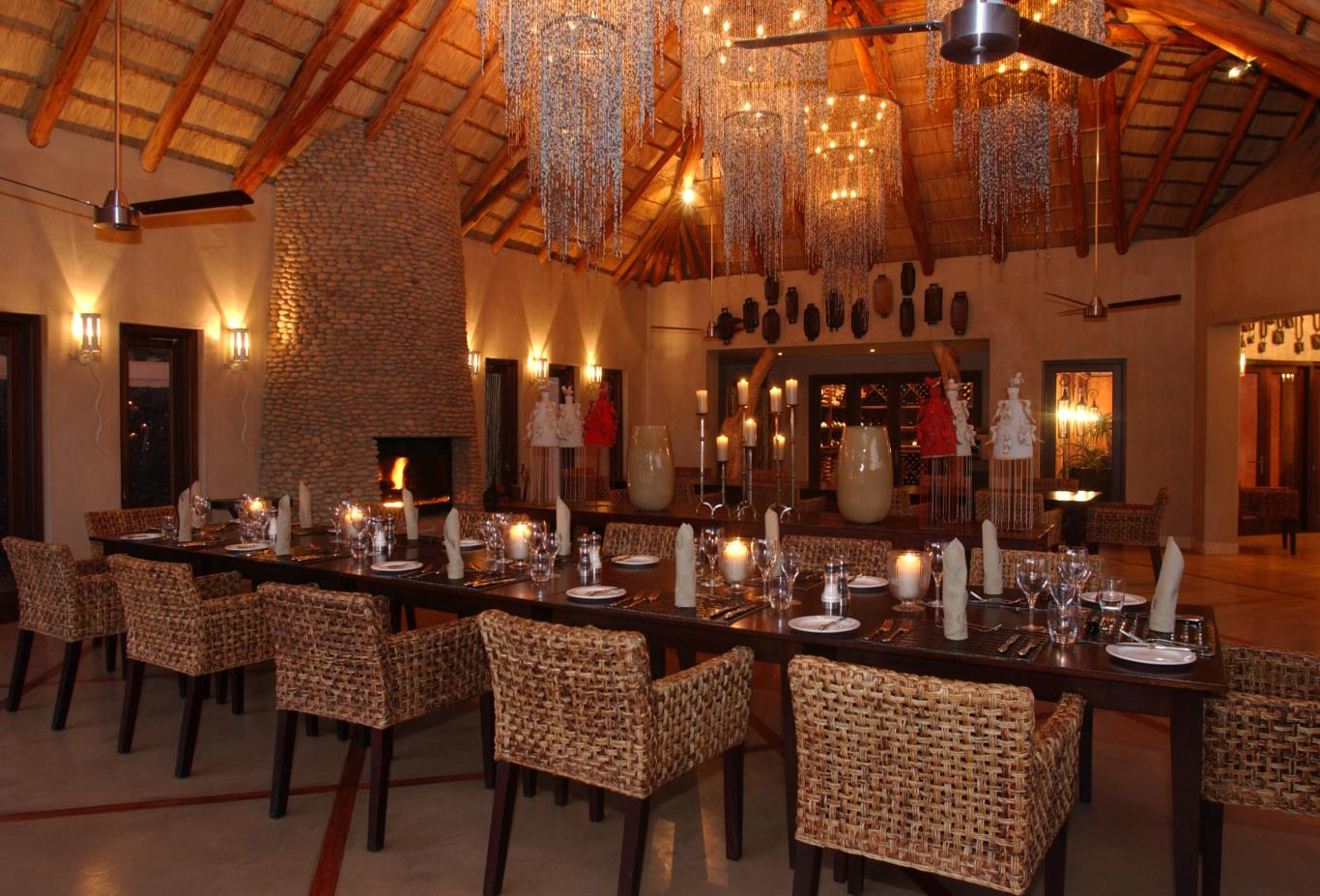 Safari Lodge Dining