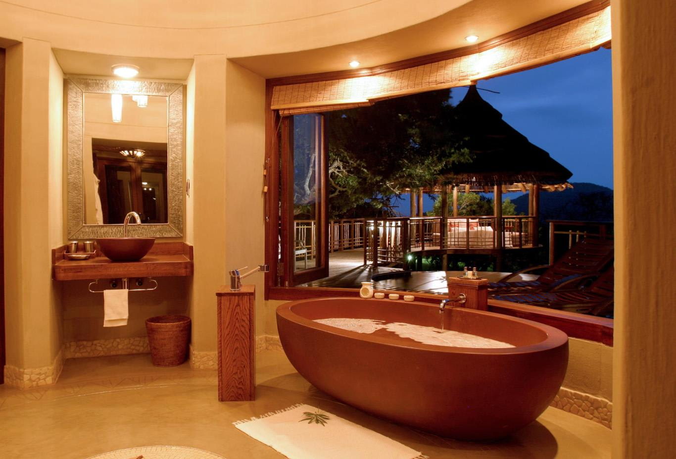 Safari Lodge Bush Suite Bathroom