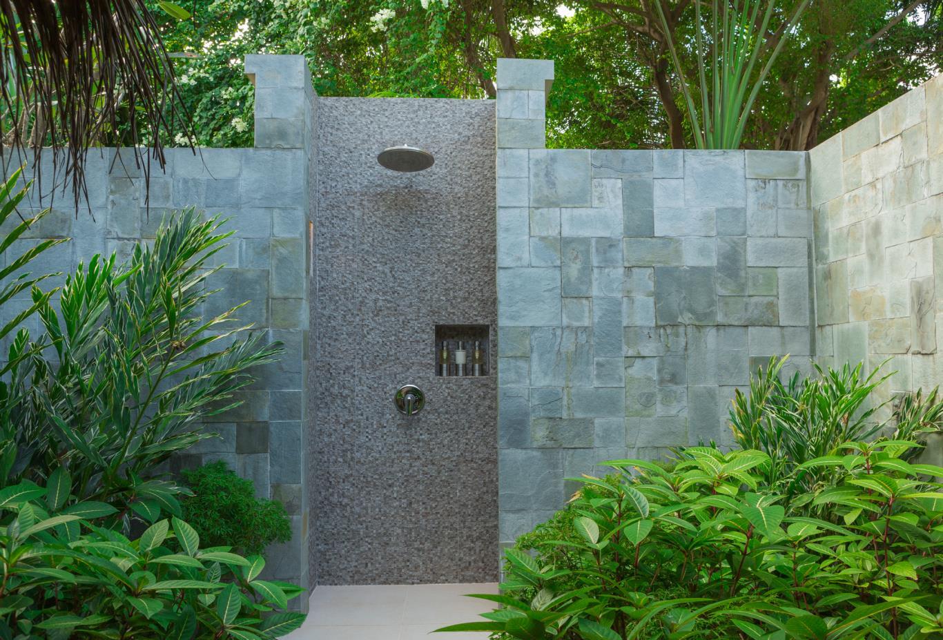 Baros Villa Outdoor Shower