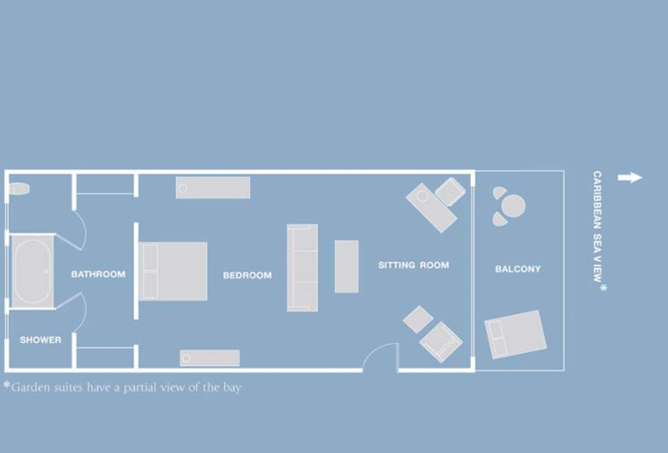 Garden Suite floorplan
