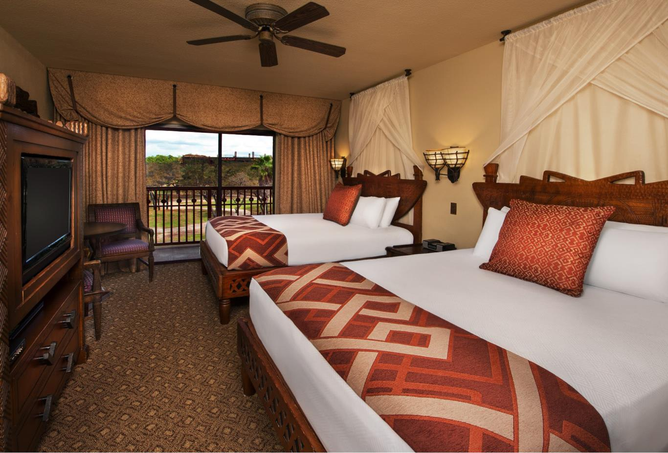 Animal Kingdom Lodge Room