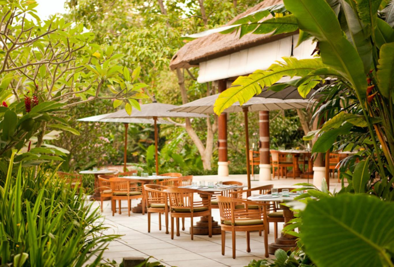 Kemiri Terrace Seating landscape