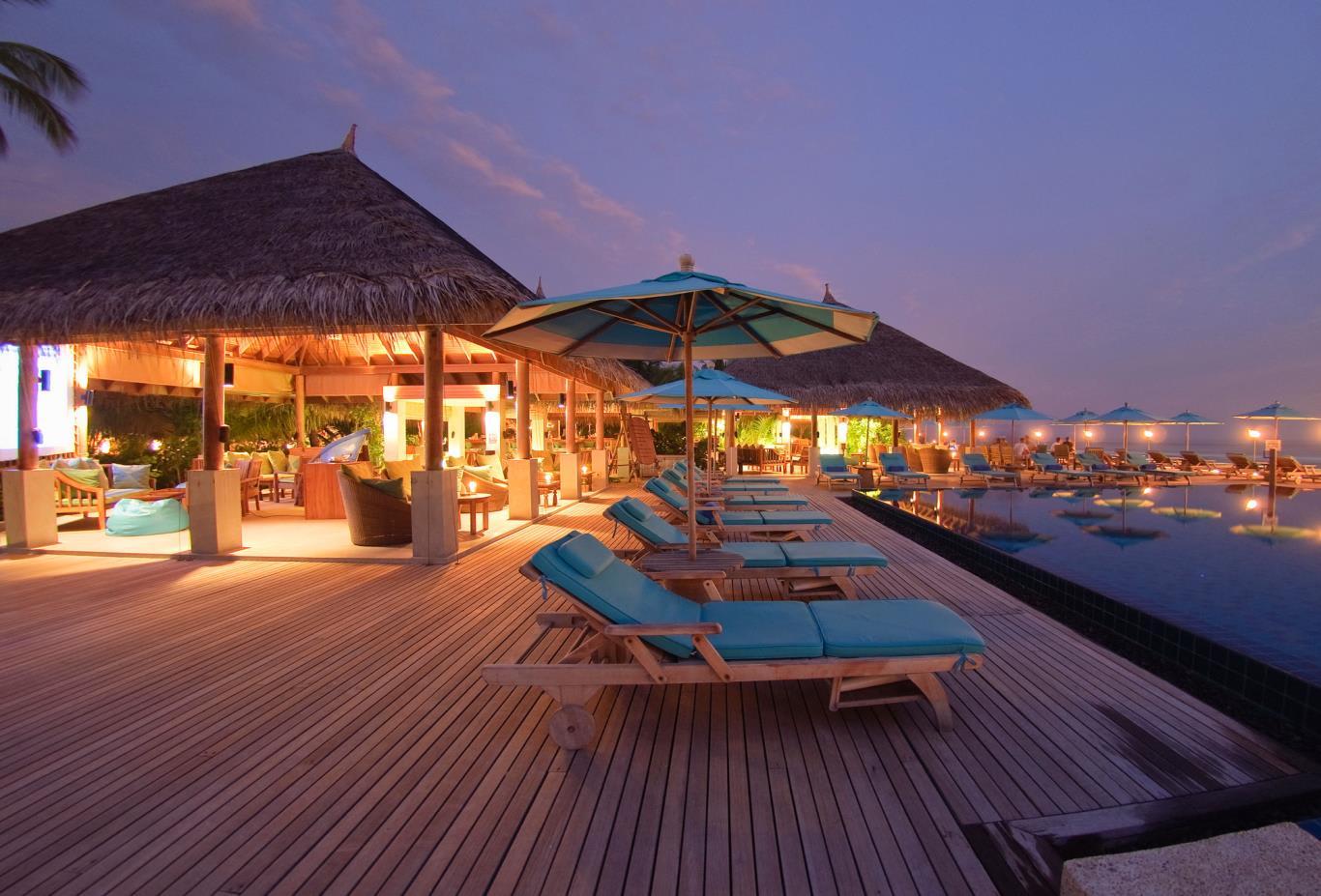 Dhoni Pool Bar