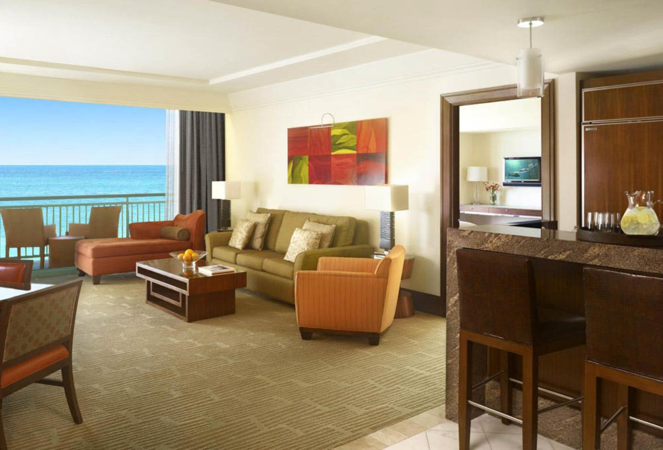 Suites Living Room Ocean View