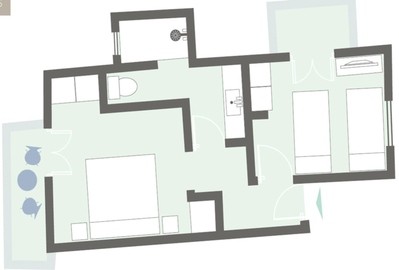 Family-suite-floorplan example