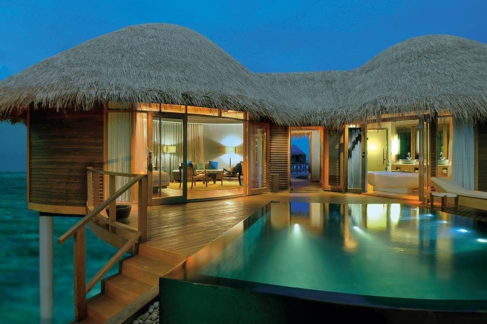Water Villa and pool