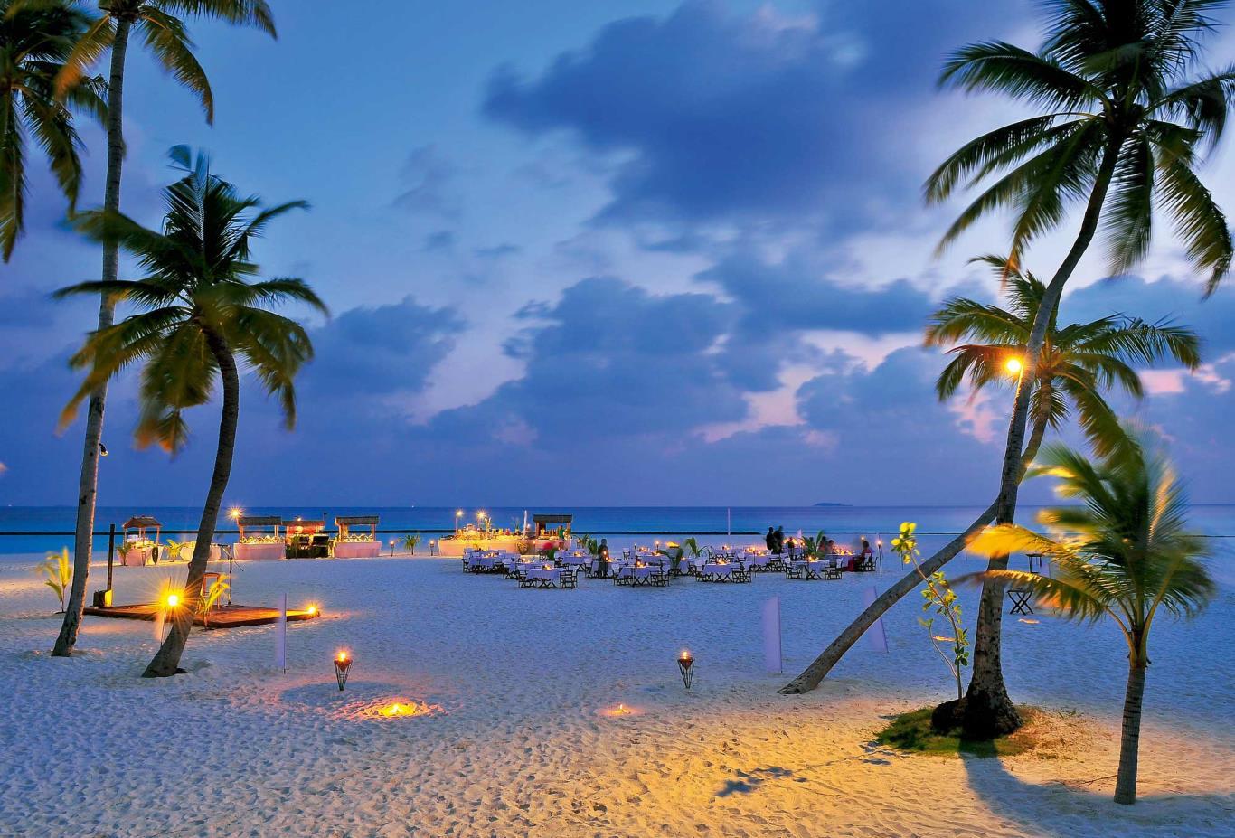 Meeru Beach Buffet