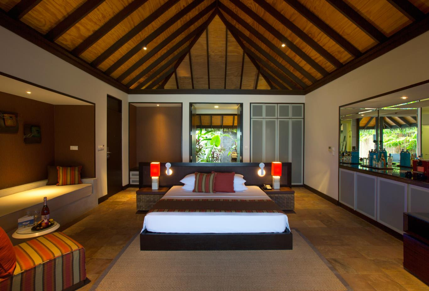 Beach Villa Interior Bedroom