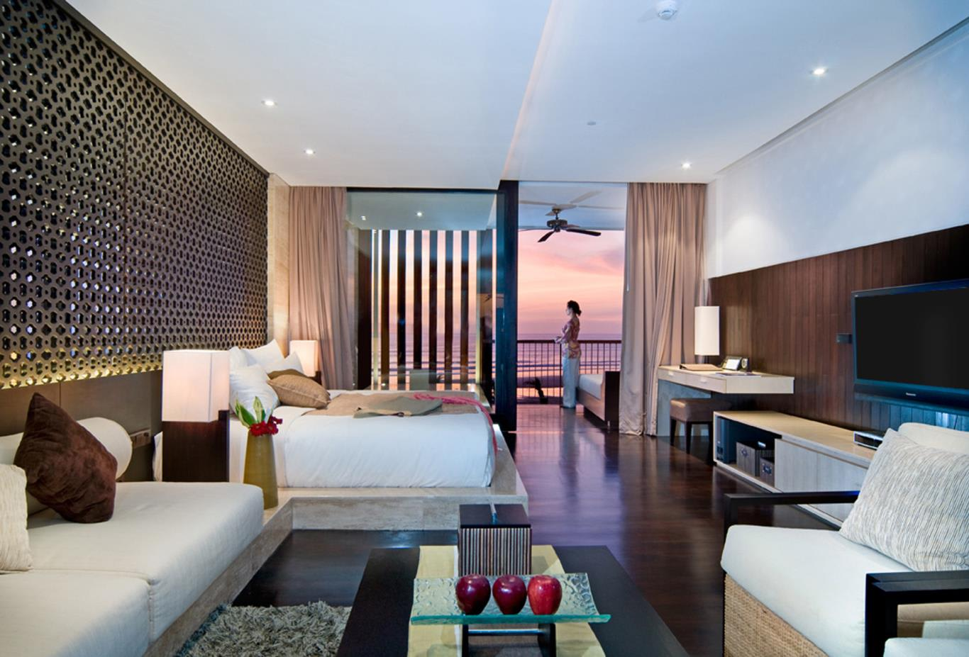 Anantara Ocean Suite sunset