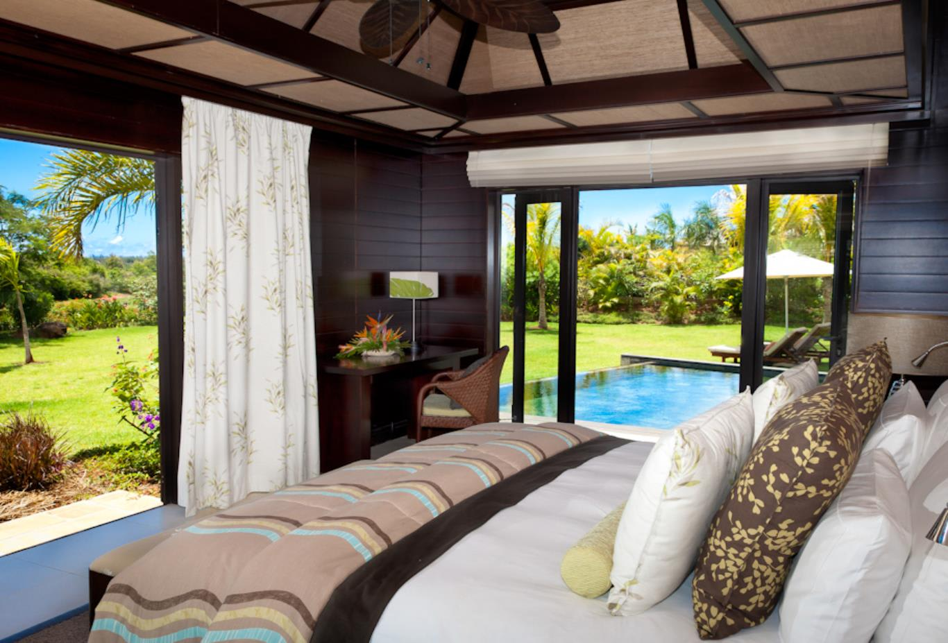 Prestige Villa showing views from bedroom