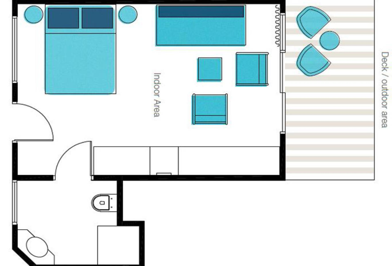 Reef Room Floorplan