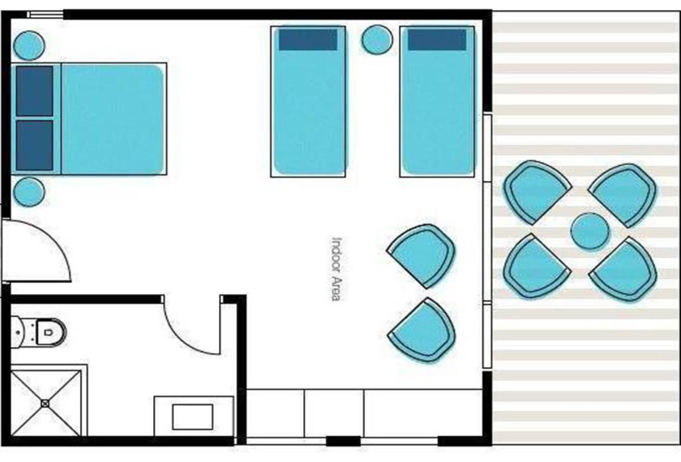 Turtle Family Room Floor Plan