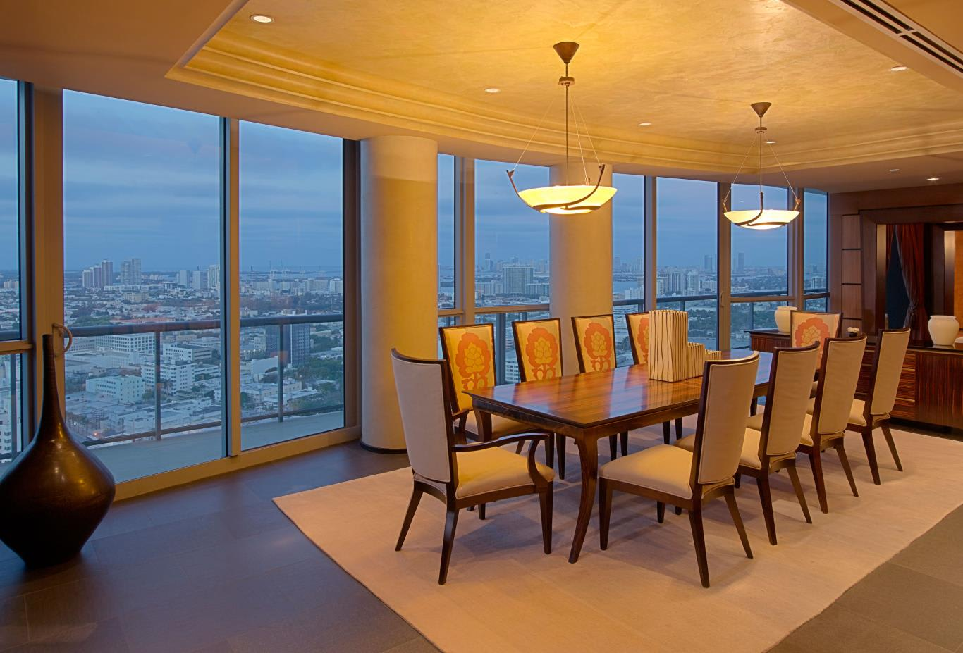 Tower Penthouse Dining Room