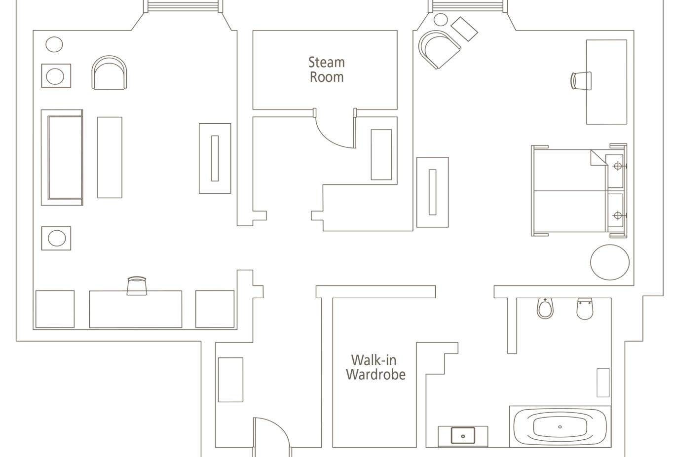 Floorplan-Brunelleschi-Suite