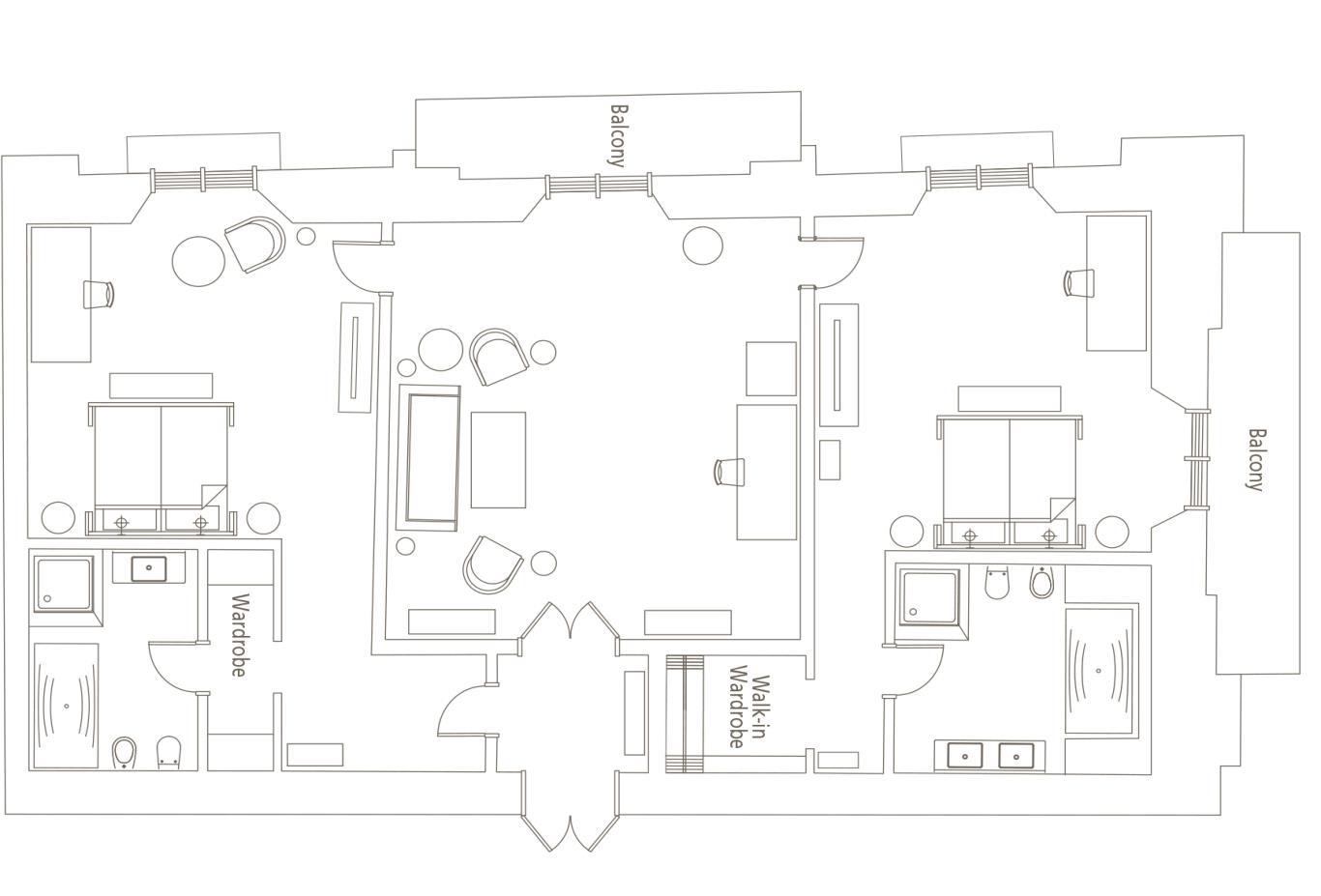 Floorplan-Repubblica-Suite