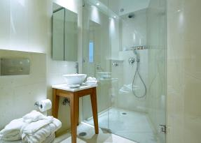 Artemis Suite bathroom and shower