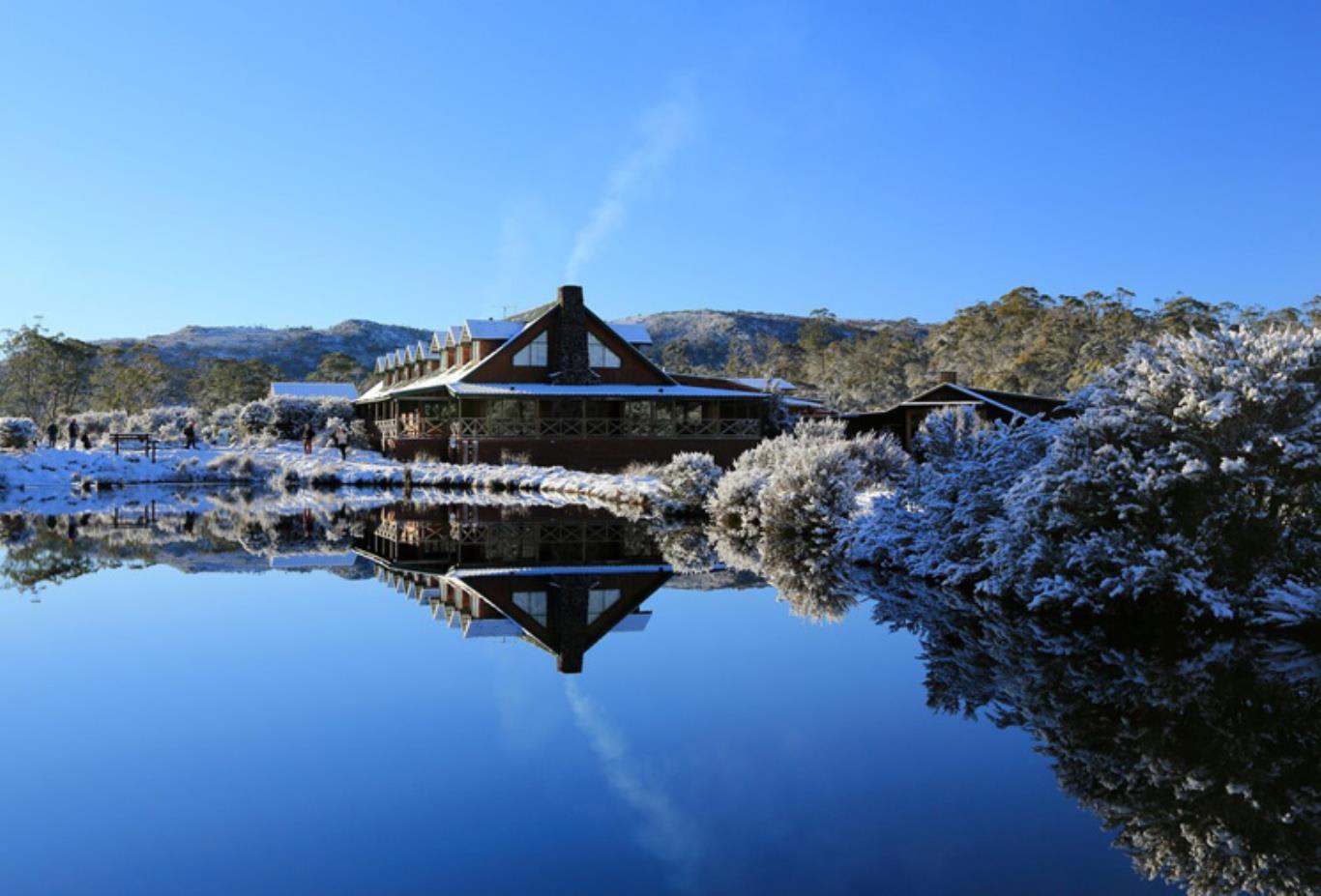 Lodge In Winter