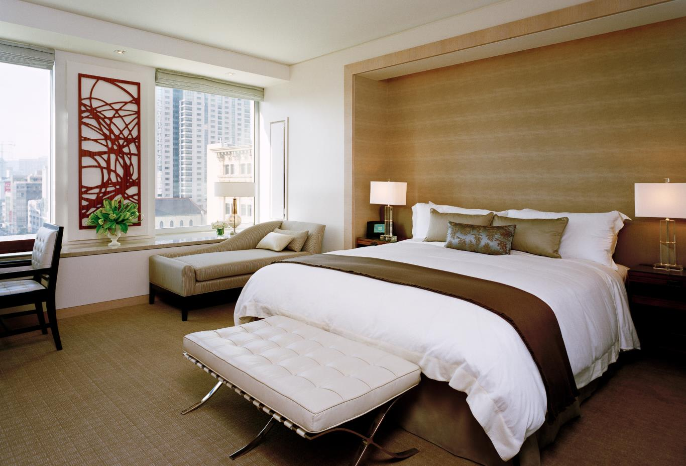 Superior Guest Room bed