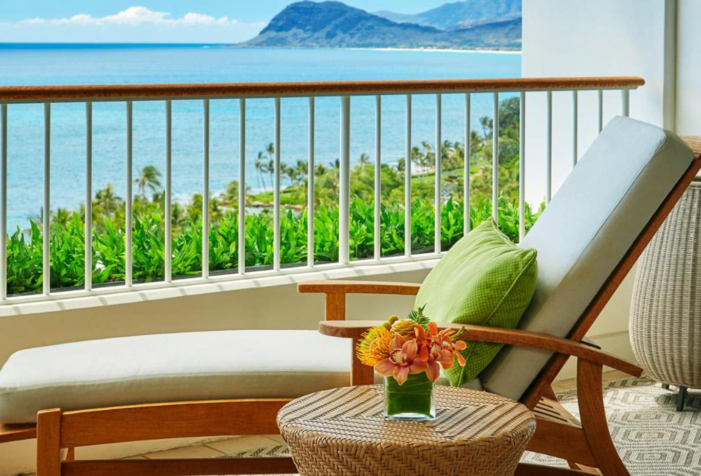 Oceanfront Room or suite balcony
