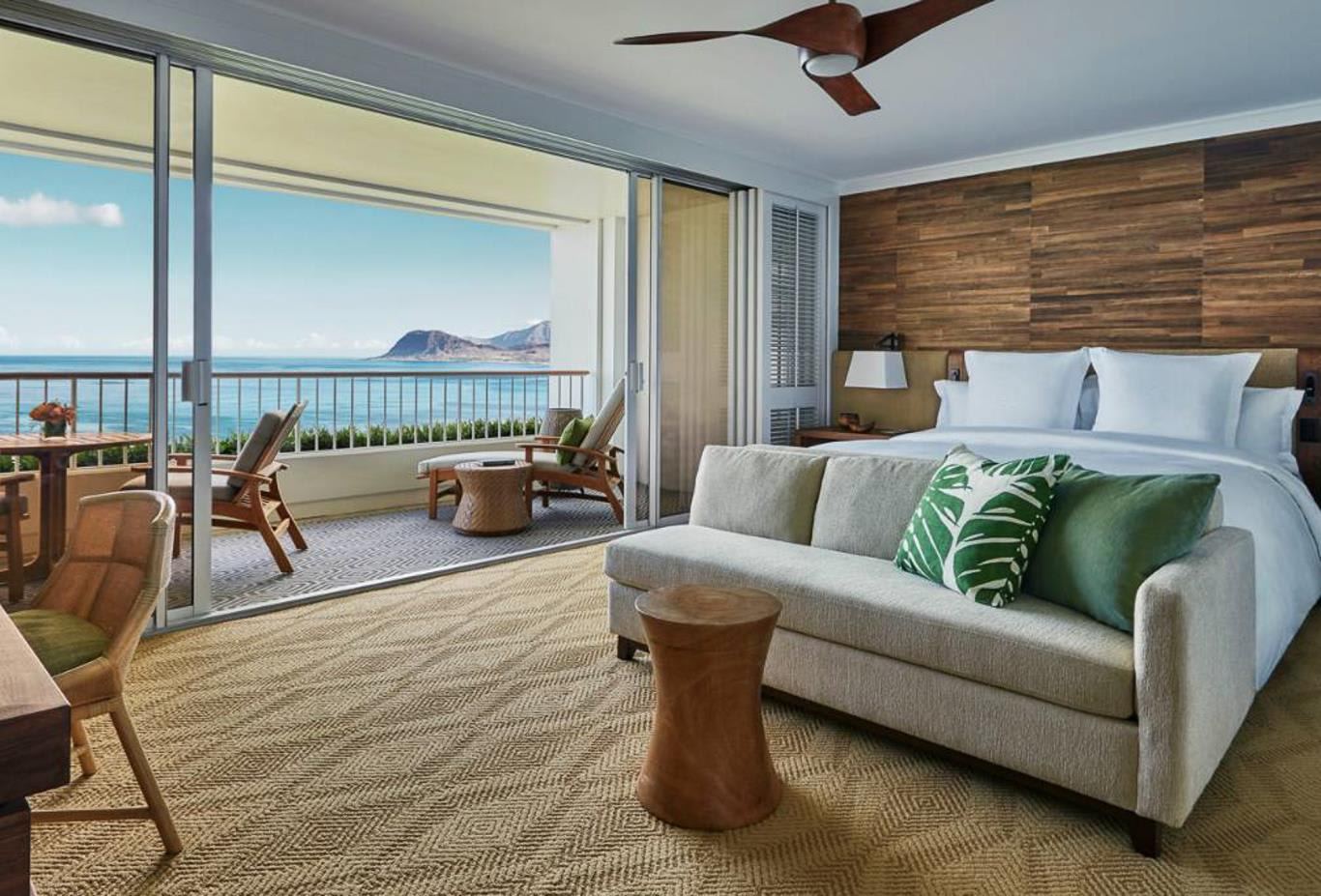 Oceanfront Room or suite bedroom