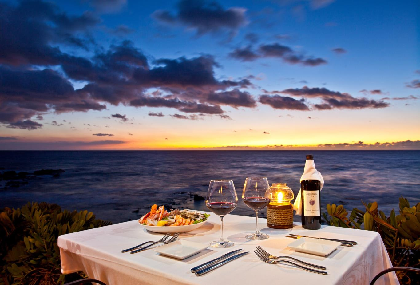 Sunset Dining at Kamuela Provison Company