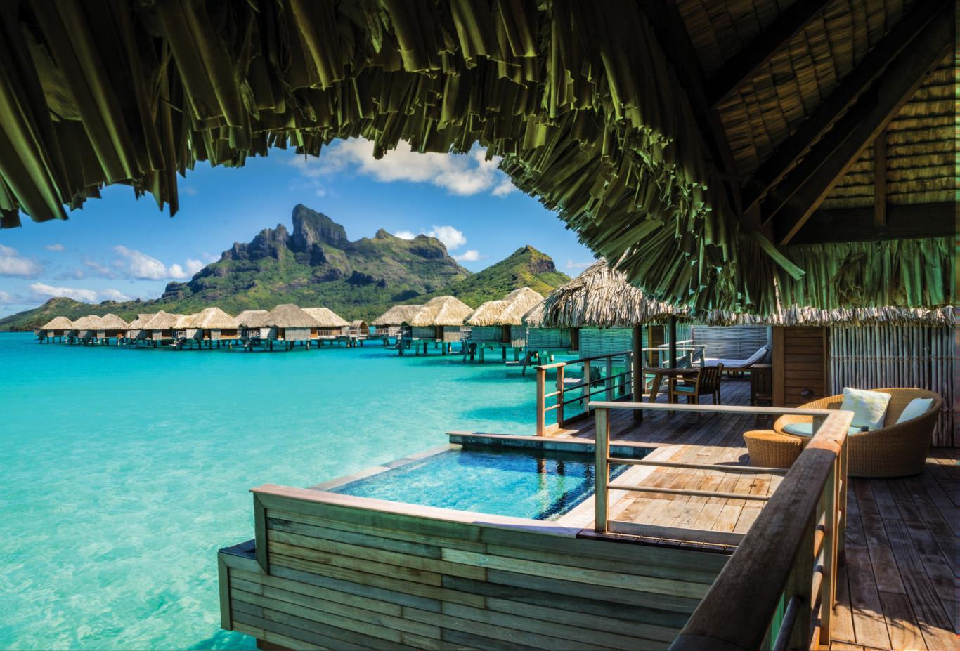 Herenui Two Bedroom Overwater Bungalow Suite