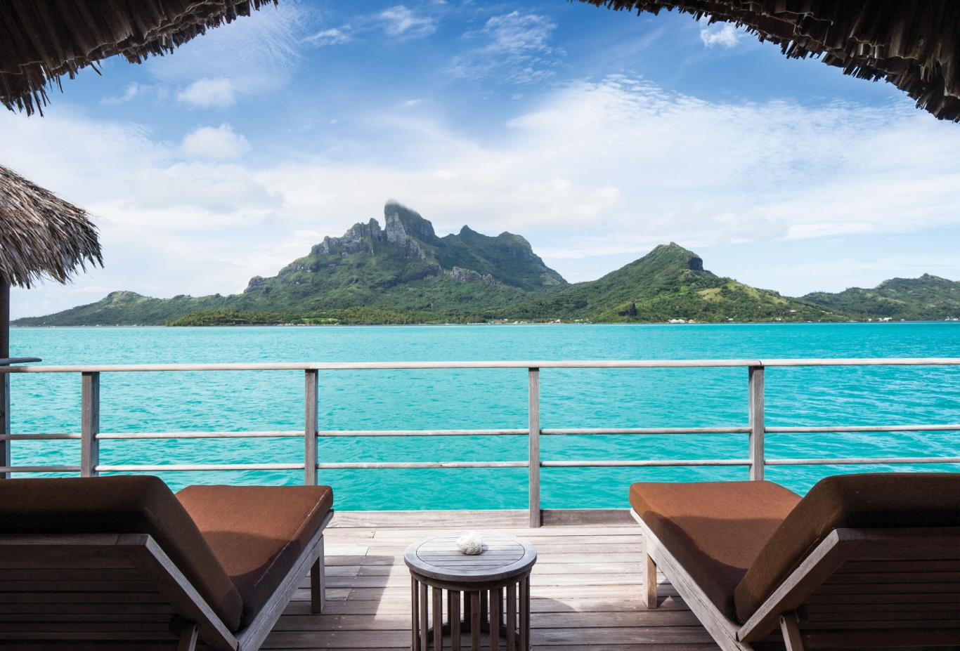 One Bedroom Mountain View Overwater Bungalow Suite