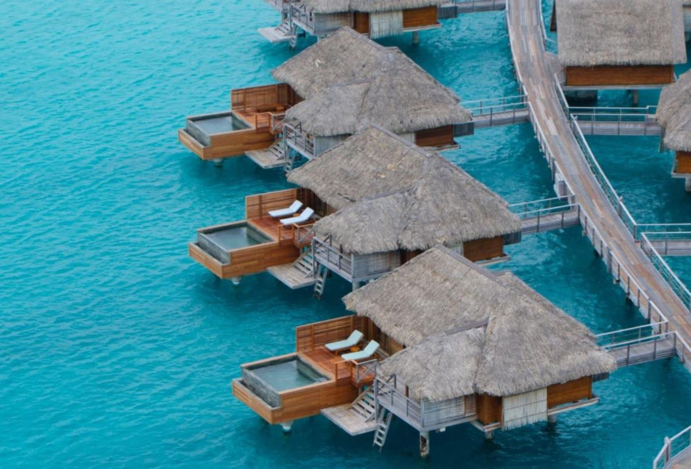 One Bedroom Overwater Bungalow Suite with Plunge Pool