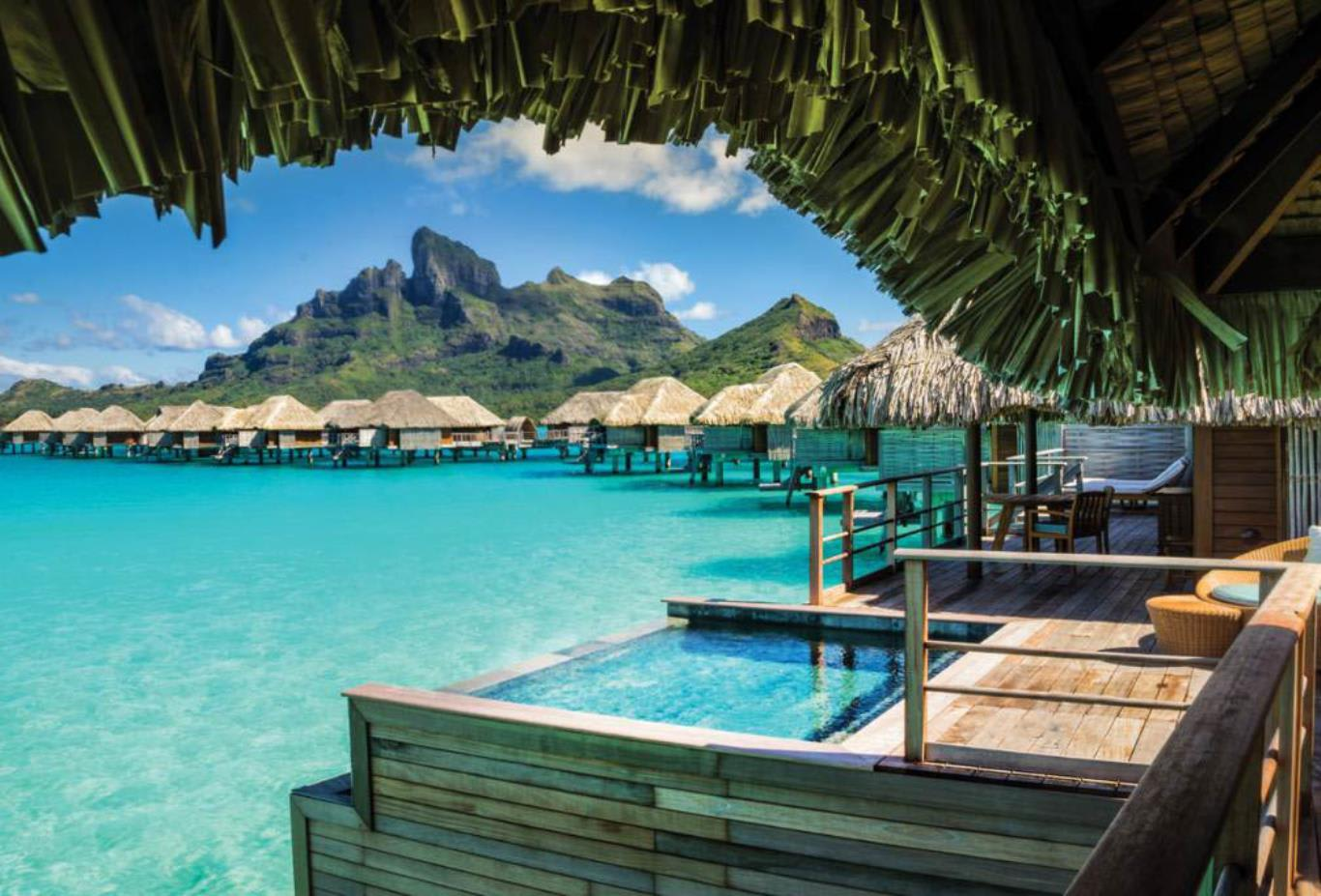 Poerava Two-Bedroom Overwater Bungalow Suite