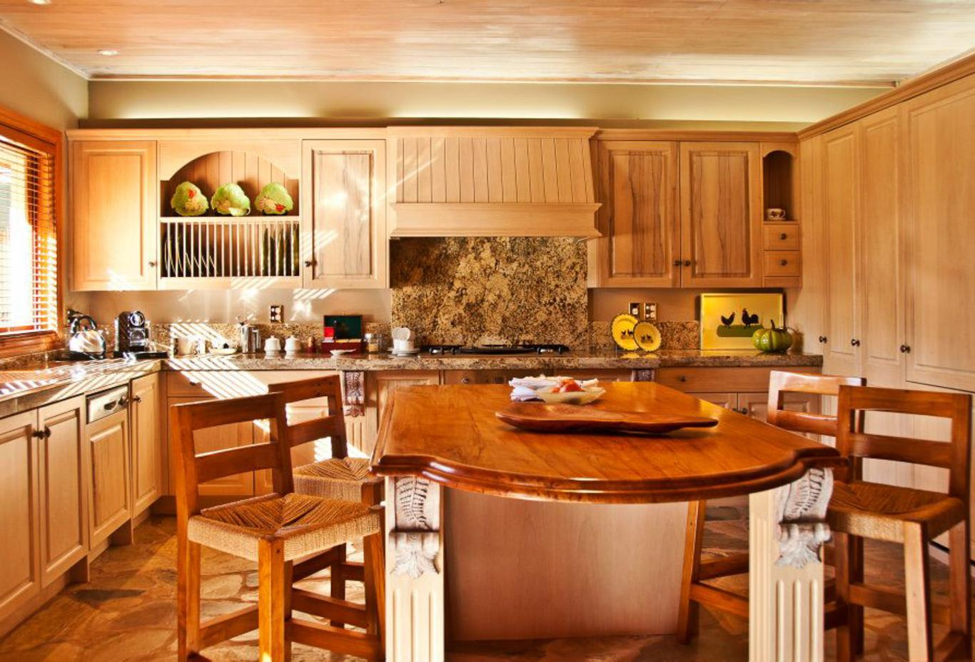 Kitchen in the Lodge Suites