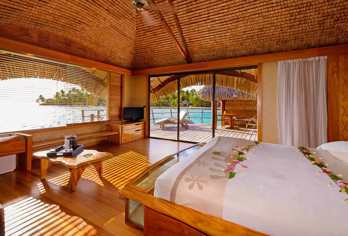 Overwater Suite Bedroom
