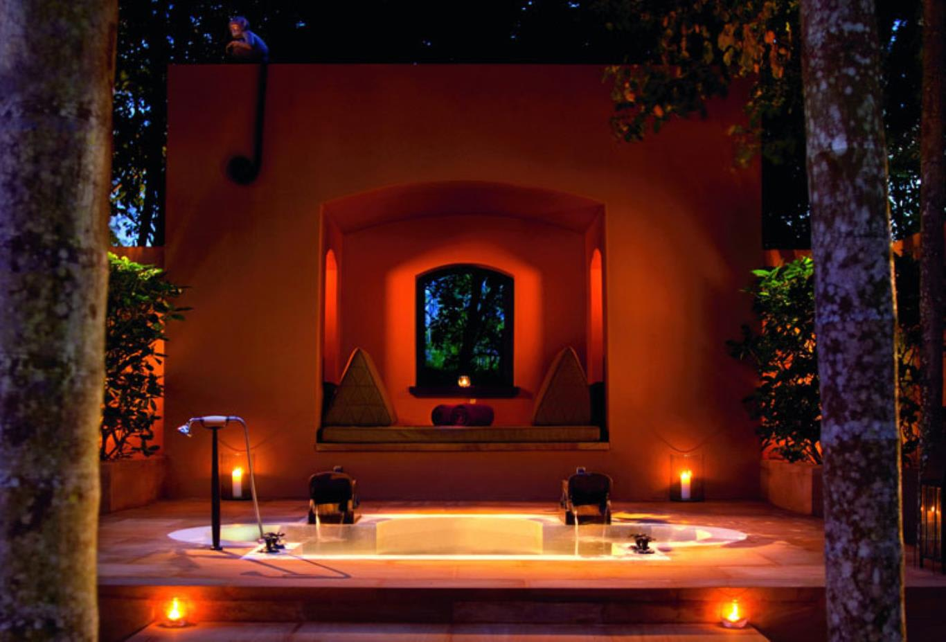 Outdoor-reserve-villa-Bathtub