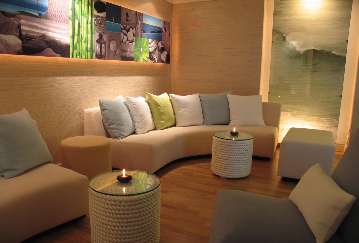 The Sandbar Seating Area
