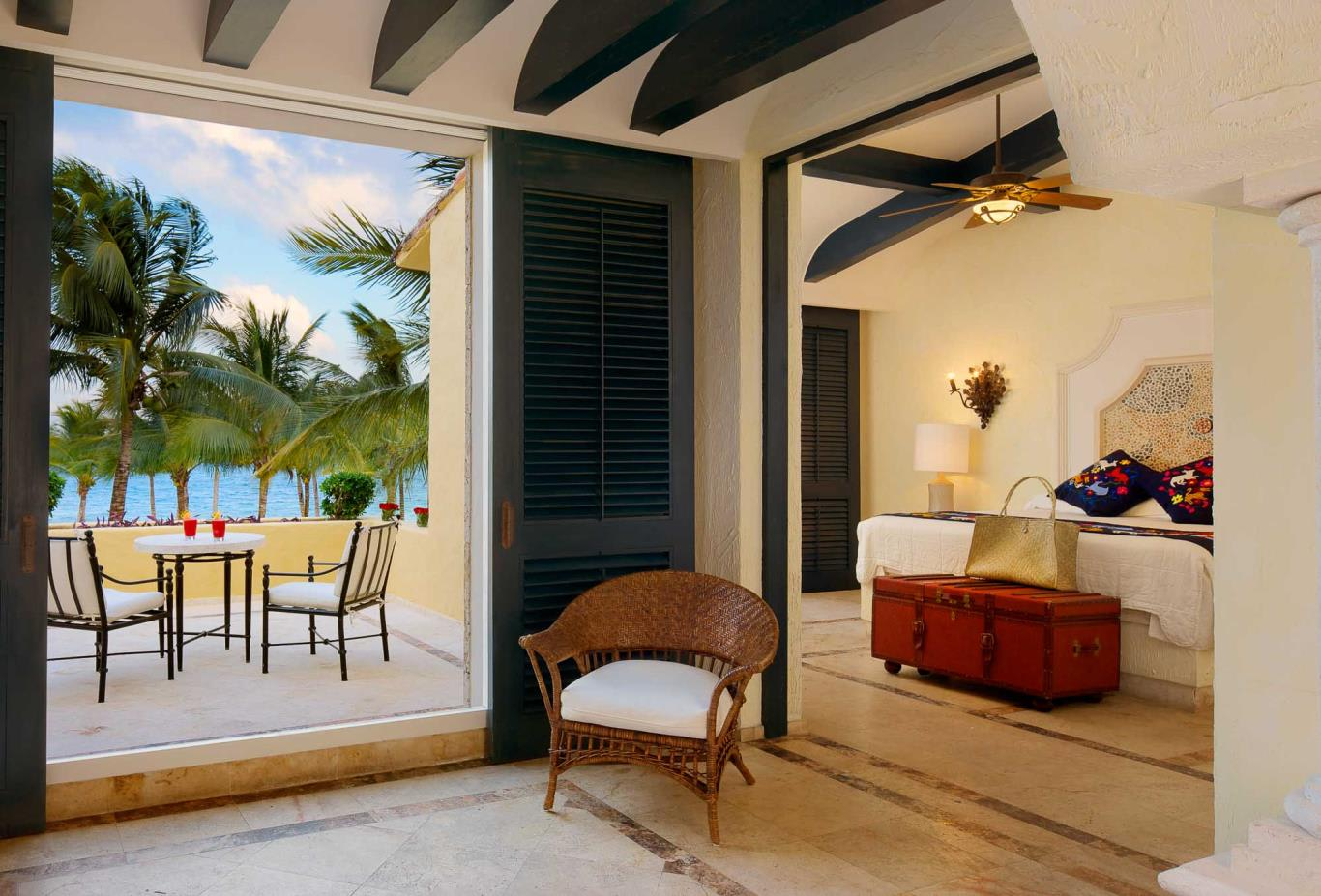 Master Suite Ocean Front Two Bedroom Suite with Terrace
