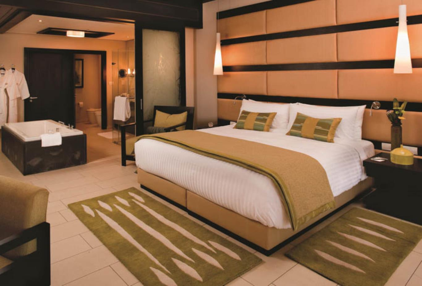 Deluxe Room bedroom interior