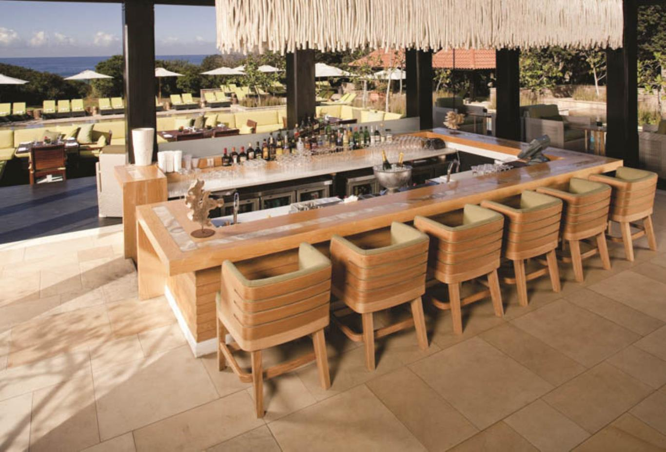 Makhaza Bar at Beach Club interior seating