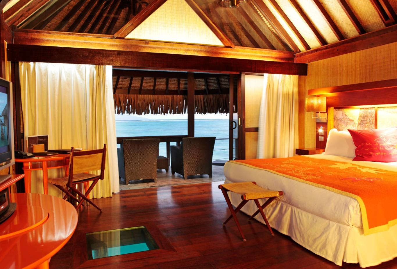 Superior Overwater Bungalow Bedroom